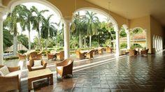 Casa Velas outdoor lobby/terrace...