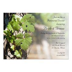 Winery Wedding Thank You Grape Leaves Vineyard Wedding Thank You Favor Tags Rectangular Sticker Winery Wedding Invitations, Rehearsal Dinner Invitations, Rehearsal Dinners, Wedding Rehearsal, Wedding Shower Cards, Wedding Cards, Bridal Shower, Wedding Envelopes, Vineyard Wedding