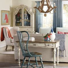 Hooker Furniture Sanctuary Leg Desk | from hayneedle.com