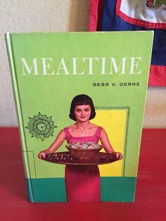 Vtg 1960 Home Economics Textbook Mealtime | eBay