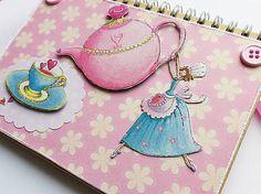 misha_cards / Čajíkový zápisník