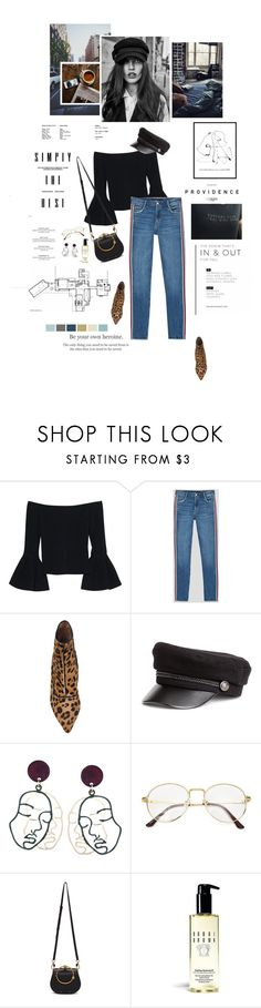"""Be your own heroine."" by sarahstardom ❤ liked on Polyvore featuring Gosh, Alexis, Tabitha Simmons, American Eagle Outfitters, Chloé, Bobbi Brown Cosmetics and Etiquette"