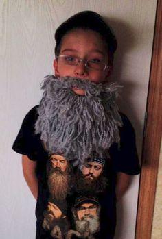 Landon's Beard Free Crochet Pattern