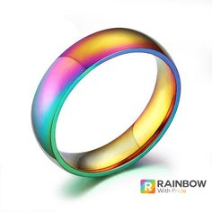 Pride Rainbow Ring