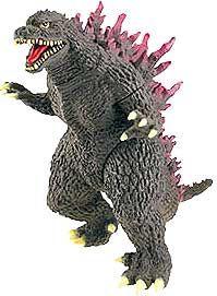 Godzilla 6.5 Inch Deluxe Vinyl Figure Millenium Godzilla