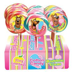 Scooby Doo Carnival Lollipop (24 Ct)
