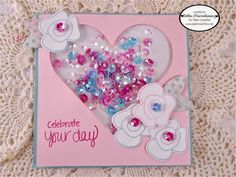 Debbie Marcinkiewicz from Paper Sweeties for Cupcake Inspirations 300th Challenge Sparkle Inspiration