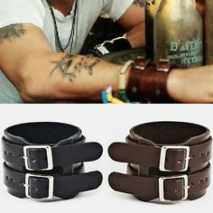 Johny Wrist Band Bracelet-Bracelet 07 Ive wanted these for years! Manado, Johny Depp, Edc Everyday Carry, Mens Attire, Bracelets For Men, Style Icons, Fashion Accessories, Mens Fashion, My Style