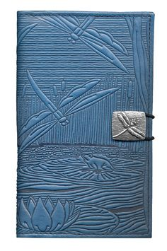 Leather Women's Wallet Dragonfly Pond | 2 Colors