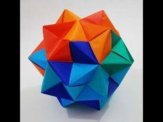 Manualidades: Figura Mòdulo en Origami- Hogar Tv  por Juan Gonzalo Angel