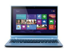 Acer Aspire V5-122P 11.6-inch Touchscreen Laptop (Blue) - (AMD A4 1GHz