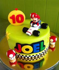 Pastel Super Mario Karts