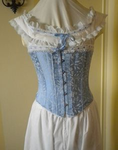 Civil War Under Garments Corset Pantlets by EaGenieScotsandKnots, $425.00