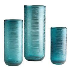 Cyan Design Medium Libra Vase in Aqua   $57.50