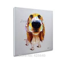 Cheap art deco, Buy Quality art decor wallpaper directly from China decor art Suppliers: Pop art Smart Dog on canvas modern abstract oil painting handmade oil painting Animal Pop Art Home Decor Living Room Art Pop, Dog Pop Art, Dog Art, Oil Painting Abstract, Texture Painting, China Art, Wall Art Pictures, Animal Paintings, Framed Wall Art