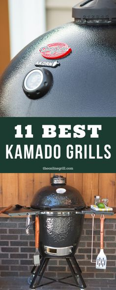 Check out this list of the best kamado grills. Ceramic grills and cookers from brands like Kamado Joe, Char Griller, Weber, Primo, and more. Best Kamado Grill, Kamado Bbq, Akorn Grill, Grill Table, Gas Grill Reviews, Ceramic Grill, Grill Accessories, Best Bbq, Grilling Recipes