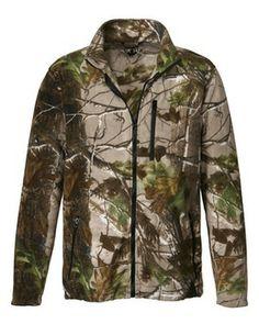 Camo-Fleecejacke (braun) von Wald & Forst - Jacken - Jagdbekleidung für Herren - Jagdbekleidung Online Shop - Frankonia.de