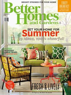 Better Home And Garden Magazine