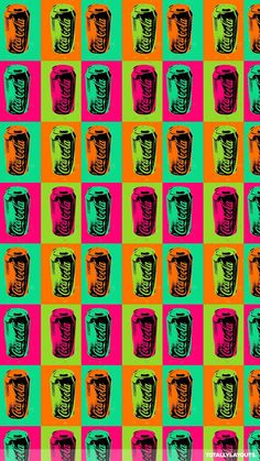 Coca Cola Pop Art And Wallpaper Image