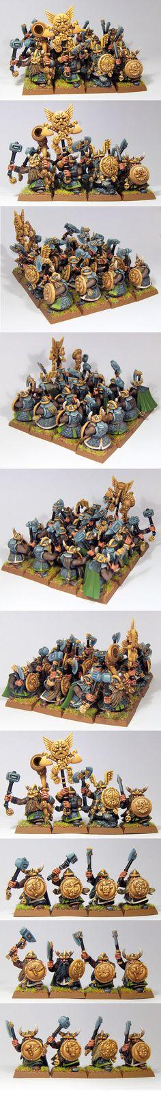 nain Fantasy Dwarf, Fantasy Battle, Warhammer Dwarfs, Figurines Warhammer, Model Hobbies, War Hammer, Fantasy Miniatures, Warhammer Fantasy, Furry Art