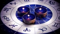 Zodiac with candles. Zodiac with three blue candles , Today's Daily Horoscope, Zodiac Candles, Tarot, Know Your Future, All Planets, Blue Candles, Palmistry, How To Find Out, Finance