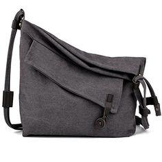 COOFIT Canvas Bag for Women Crossbody Bag Messenger Bag Shoulder Bag Hobo  Bag Unisex Luggage Store 487184891a