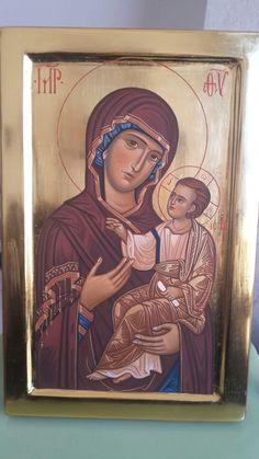 Icona reinterpretata madonna della Madia. VINCITRICE DEL 9°  CONCORSO arte bizantina negli eremi di Gravina in Puglia.  PRENCIPE FRANCESCO PAOLO Manfredonia FG