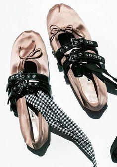 Miu Miu Ballet Flats by Garance Doré