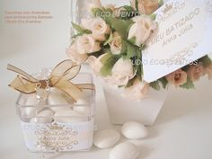 Caixinhas de Acrílico para as lembrancinhas (bala de coco)  BATIZADO (mimos e decoração) | * STUDIO ECO EVENTOS (Artigos para Festas e Lembrancinhas PERSONALIZADAS( | Elo7