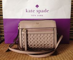 NWT KATE SPADE LOOLOO PERRI LANE BUBBLES LEATHER SMALL CROSSBODY BAG #katespade #Crossbodybag