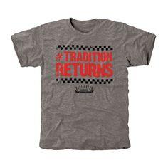 Darlington Raceway Tradition Tri-Blend T-Shirt - Ash