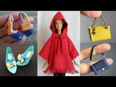 Easy DIY Barbie Clothes ❤️ BARBIE HACKS AND CRAFTS / part3 - YouTube