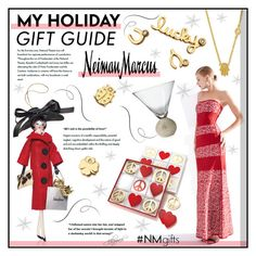 """The Holiday Wish List With Neiman Marcus: Contest Entry"" by gabygrach ❤ liked on Polyvore featuring Neiman Marcus, Hervé Léger, Sydney Evan, Jonathan Adler, Soffieria de Carlini, fashionset, polyvoreeditorial, neimanmarcus and polyvorecontest"
