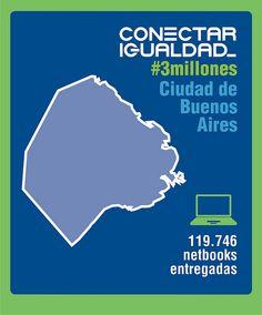 Conectar Igualdad #3millones Ciudad de Buenos Aires