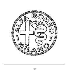Marchio Alfa Romeo del 1947 Alfa Romeo Logo, Alfa Alfa, Alfa Romeo Spider, Logos, Virtual Museum, Cars, Beautiful Things, Twin, Poster