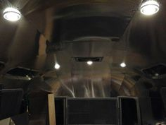 LED interior lights in remodeled Airstream.  http://mistahlee33.wordpress.com/