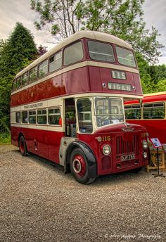Leyland double decker bus