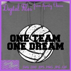 Volleyball SVG - Volleyball Player SVG - One Team One Dream - Volleyball Mom SVG - Volleyball Shirt - Motivational Quote - Coaches Gift by SportyChicas on Etsy #volleyball #volleyballgift #volleyballsvg #volleyballshirt #volleyballteamgift #volleyballmom #volleyballgirls #volleyballlife #volleyballgame #volleyballswag #volleyballteam #volleyballparty #volleyballpartygift #teamgift #coachgift #coach #proudmomma #proudmom #proudmommy