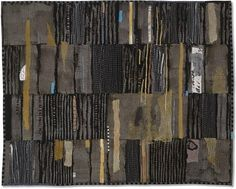 sweetpeapath:  Sending Up Prayers by Jette Clover art quilt -40 x 51 inches - hand dyed, collage, hand and machine quilting Visions Art Museum, Quilt Visions Biennial, 2006
