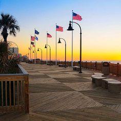 Stroll The Myrtle Beach Boardwalk
