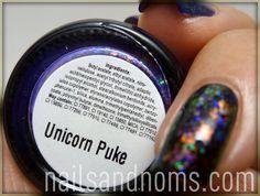 Unicorn Puke/Clairvoyant by NailsandNoms, via Flickr