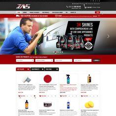 New Automotive Online Store Webpage Design by Gccartz