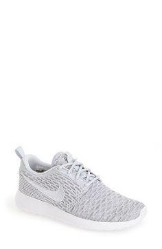 Nike Roshe One Shoes - Wolf Grey/White | Threads | Pinterest | Nike roshe