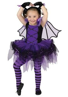 New this season - this adorable Toddler Halloween Batarina Bat Costume features the newest ballerina costume styling. Batarina Costume includes tutu dress with m Halloween Costumes For Teens Girls, Classic Halloween Costumes, Group Halloween Costumes, Toddler Costumes, Baby Halloween, Girl Costumes, Costumes For Women, Costume Ideas, Bat Costume