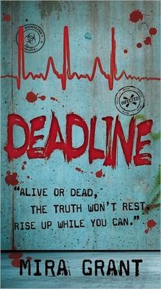Deadline by Mira Grant - amazing 2nd book in the News Flesh series. Sad that it ends in a cliffhanger though and the 3rd book isn't out until June.