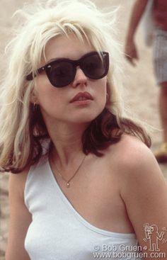 Debbie Harry, Coney Island, NY. August 7, 1977