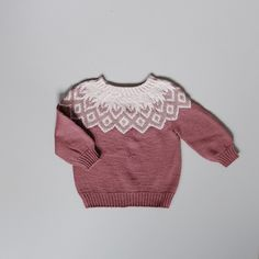 Høstgenser – My Knits and me Knitting For Kids, Baby Knitting Patterns, Crochet Patterns, Baby Barn, Knit Baby Dress, Kids And Parenting, Knitwear, Men Sweater, Pullover