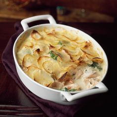 Try this delicious no-fuss fish pie. Search triple tested recipes from the Good Housekeeping Cookery Team. Best Fish Recipes, Pie Recipes, Fall Recipes, Crowd Recipes, Salmon Recipes, Healthy Recipes, Fish Pie, Midweek Meals, Cookery Books