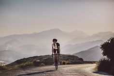 """""""Road Is The Way Of Life"""" and """"Cycling Memories"""" – are carefree sentiments for life in general and a profound love and humble homage to wide open spaces and tarmac. #isadoreapparel #roadisthewayoflife #cyclingmemories"""