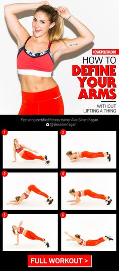This 6-Move Workout Will Give You The Sexiest Arms Ever Without Lifting A Thing
